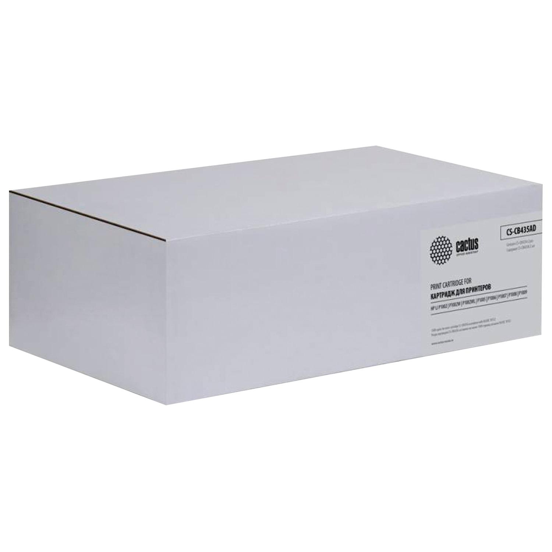 Картридж лазерный CACTUS (CS-CB435AD) для HP LaserJet P1005/P1006, комплект 2 шт., ресурс 2х1500 стр.