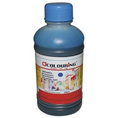 Чернила COLOURING для CANON /EPSON /HP /LEXMARK универсальные, голубые, 0,25 л, водные