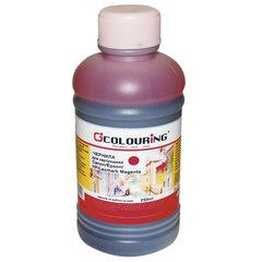 Чернила COLOURING для CANON /EPSON /HP /LEXMARK универсальные, пурпурные, 0,25 л, водные