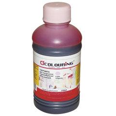 Чернила COLOURING для CANON /EPSON /HP /LEXMARK универсальные, светло-пурпурные, 0,25 л, водные