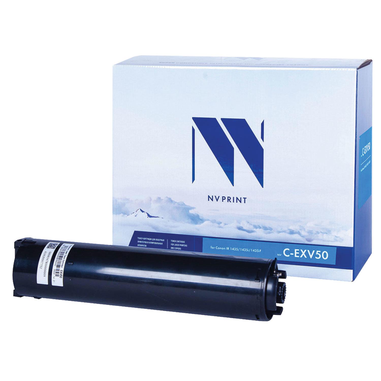 Тонер NV PRINT (NV-CEXV50) для CANON IR1435/ 1435i/ 1435iF, ресурс 17600 страниц
