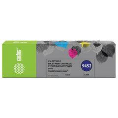 Картридж струйный CACTUS (CS-EPT9452) для Epson WF-C5290DW/C5790DW, голубой, 66 мл