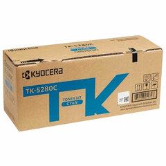 Тонер-картридж KYOCERA (TK-5280C) M6235cidn/M6635cidn/P6235cdn, голубой, ресурс 11000 страниц, оригинальный