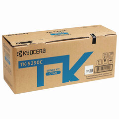 Тонер-картридж KYOCERA (TK-5290C) P7240cdn, голубой, ресурс 13000 страниц, оригинальный