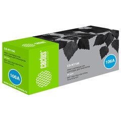 Картридж лазерный CACTUS (CS-W1106) для HP Laser 107a/135a/MFP 137 и др., ресурс 1000 страниц
