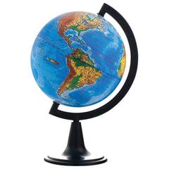 Глобус физический, диаметр 150 мм