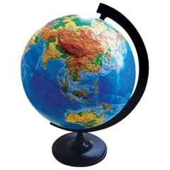 Глобус физический, диаметр 320 мм, рельефный