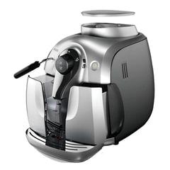 Кофемашина PHILIPS HD8649/51, 1400 Вт, 15 бар, объем 1 л, емкость для зерен 180 г, капучинатор, пластик, серебристая