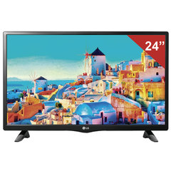 "Телевизор LG 24"" (60,96 см) 24LH451U, LED, 1366x768, HD Ready, 16:9, 50 Гц, HDMI, USB, черный, 3,4 кг"