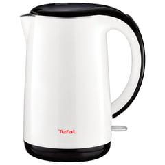 Чайник TEFAL KO260130, 1,7 л, 2150 Вт, закрытый нагревательный элемент, пластик, металл, белый