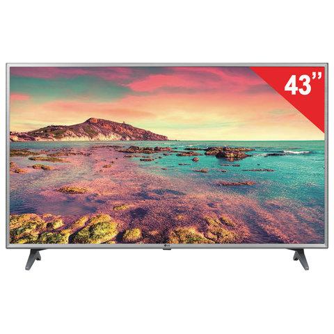 "Телевизор LG 43"" (109,2 см), 43LK6100, LED, 1920x1080 FullHD, SmarTV, WiFi, 50 Гц, HDMI, USB, серый"