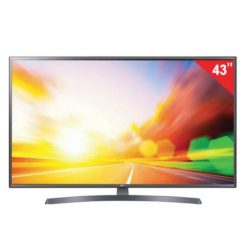 "Телевизор LG 43"" (109,2 см), 43LK6200, LED, 1920x1080 FullHD, SmartTV, WiFi, 50 Гц, HDMI, USB, серебристый"
