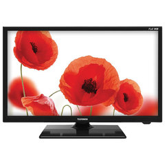 Телевизор TELEFUNKEN 22'' (55 см), TF-LED22S48T2, 1920x1080 Full HD, 50 Гц, HDMI, USB, черный, 2,2 кг