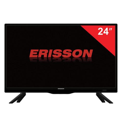 Телевизор ERISSON 24LES81T2, 24'' (61 см), 1366х768, HD, 16:9, черный