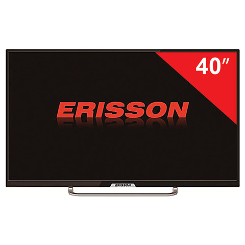 Телевизор ERISSON 40'' (101,6 см) 40FLES85T2, 1920х1080 Full HD, 50 Гц, 3 HDMI, USB, черный, 5,8 кг