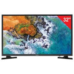 "Телевизор SAMSUNG 32"" (81,2 см) 32N4000, LED, 1366x768 HD, 16:9, 100 Гц, HDMI, USB, черный, 5,6 кг"