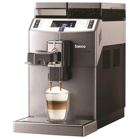 Кофемашина SAECO LIRIKA Cappuccino,1850 Вт, объем 2,5 л, емкость для зерен 500 г, автокапучинатор, серебристый