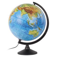 """Глобус физический GLOBEN """"Классик"""", диаметр 320 мм, с подсветкой"""