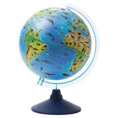 """Глобус зоогеографический GLOBEN """"Классик Евро"""", диаметр 250 мм, детский"""