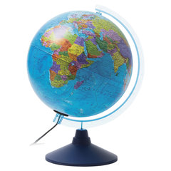 """Глобус политический GLOBEN """"Классик Евро"""", диаметр 250 мм, с подсветкой"""