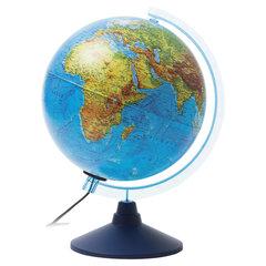 """Глобус физический/политический GLOBEN """"Классик Евро"""", диаметр 250 мм, рельефный, с подсветкой"""