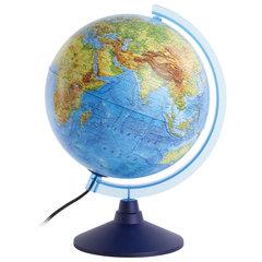 Глобус интерактивный физический/политический GLOBEN, диаметр 250 мм, с подсветкой