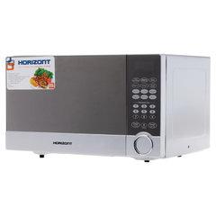 Микроволновая печь HORIZONT 23MW800-1479CBS, объем 23 л, мощность 800 Вт, сенсорное управление, гриль, серая