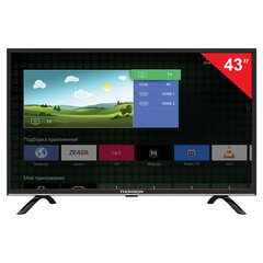 "Телевизор THOMSON T43FSL5130, 43"" (108 см), 1920х1080, Full HD, 16:9, Smart TV, Android, Wi-Fi, черный"