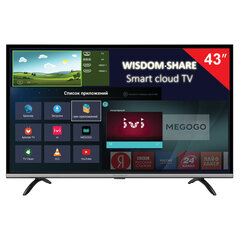 "Телевизор THOMSON T43FSL5140, 43"" (108 см), 1920х1080, Full HD, 16:9, Smart TV, Android, Wi-Fi, черный"