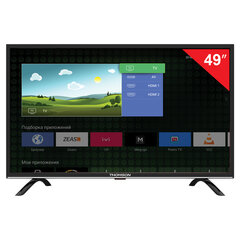"Телевизор THOMSON T49FSL5130, 49"" (124 см), 1920х1080, Full HD, 16:9, Smart TV, Android, Wi-Fi, черный"