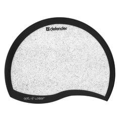 """Коврик для мыши DEFENDER """"Ergo opti-laser"""", пвх+полиуритан, 215х165х1,2 мм, черный"""
