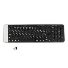 Клавиатура беспроводная LOGITECH K230, 101 клавиша, черная