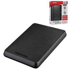 """Диск жесткий внешний HDD TOSHIBA """"Canvio Basics"""", 500 GB, 2,5"""", USB 3.0, черный"""