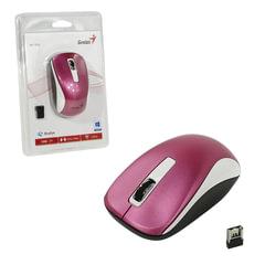 Мышь беспроводная GENIUS NX-7010, 2 кнопки + 1 колесо-кнопка, оптическая, пурпурная