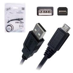 Кабель USB-micro USB, 2.0, 0,5 м, CABLEXPERT, для подключения портативных устройств и периферии