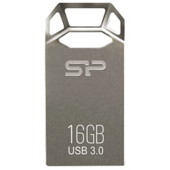 Флеш-диск 16 GB, SILICON POWER Jewel J50, USB 3.1, металлический корпус, серый, SP16GBUF3J50V1T