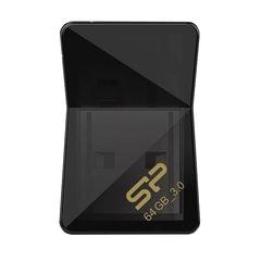Флэш-диск 64 GB SILICON POWER Jewel J08 USB 3.1, черный