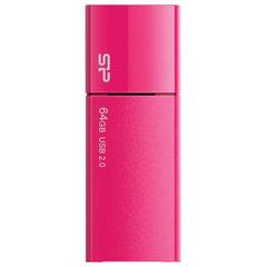 Флеш-диск 64 GB SILICON POWER Ultima U05 USB 2.0, розовый, SP64GBUF2U05V1H