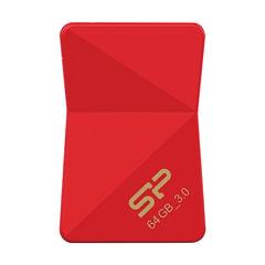 Флэш-диск 64 GB, SILICON POWER Jewel J08, USB 3.1, красный