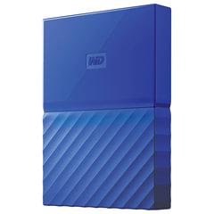 "Внешний жесткий диск WESTERN DIGITAL My Passport 1 TB, 2.5"", USB 3.0, синий, WDBBEX0010BBL-EEUE"
