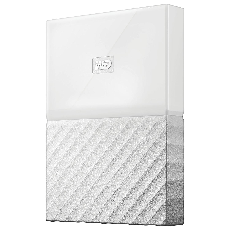 """Внешний жесткий диск WESTERN DIGITAL My Passport 1TB, 2.5"""", USB 3.0, белый, WDBBEX0010BWT-EEUE"""