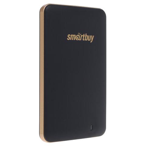 Диск жесткий внешний SSD, 128 GB, SMARTBUY S3 Drive, USB 3.0, черный