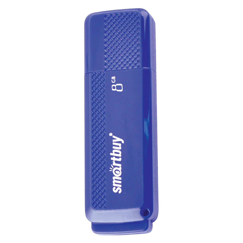 Флэш-диск 8 GB, SMARTBUY Dock, USB 2.0, синий