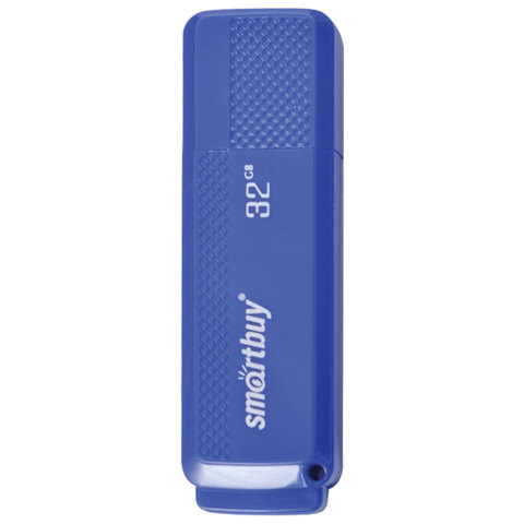 Флэш-диск 32 GB, SMARTBUY Dock, USB 2.0, синий