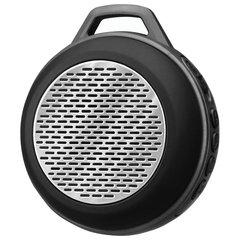 Колонка портативная SVEN PS-68, 1.0, 5 Вт, Bluetooth, FM-тюнер, microSD, MP3-плеер, черная