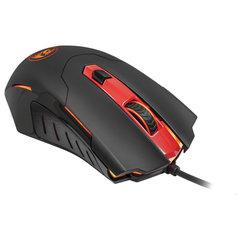 Мышь проводная игровая REDRAGON Pegasus, USB, 7 кнопок + 1 колесо-кнопка, оптическая, черная