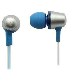 Наушники с микрофоном (гарнитура) вкладыши SVEN SEB-190M, провод 1,2 м, белые с синим