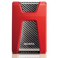 "Внешний жесткий диск A-DATA DashDrive Durable HD650 1TB, 2.5"", USB 3.0, красный, AHD650-1TU31-CRD"