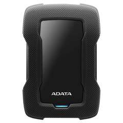"Внешний жесткий диск A-DATA DashDrive Durable HD330 1TB, 2.5"", USB 3.0, черный, AHD330-1TU31-CBK"