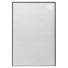 """Внешний жесткий диск SEAGATE Backup Plus Slim 1TB, 2.5"""", USB 3.0, серебристый, STHN1000401"""